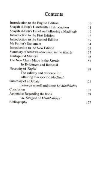 Al-La Madhhabiyya: Abandoning the Madhhabs