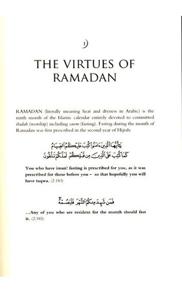 A Guide to Ramadan and Fasting