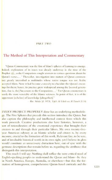 The Gracious Qur'an: A Modern Phrased Interpretation in Arabic-English