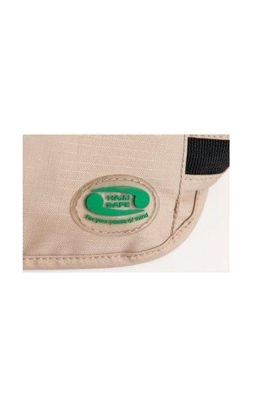 Hajj Safe - Anti-theft Hajj & Umrah Travel Waist Bag or Ihram Belt Muslim Pilgramage Bag Passport Money Purse