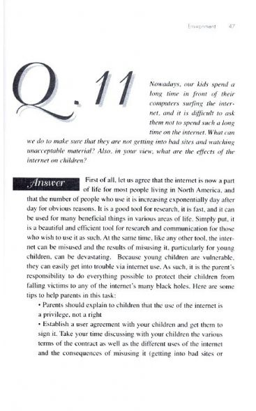Answers to Frequently Asked Questions on Parenting (Part 2)