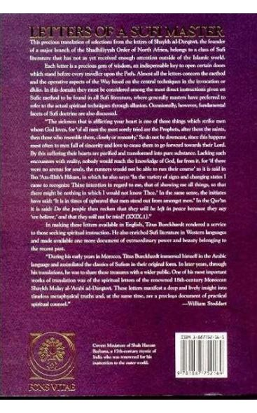 Letters of a Sufi Master