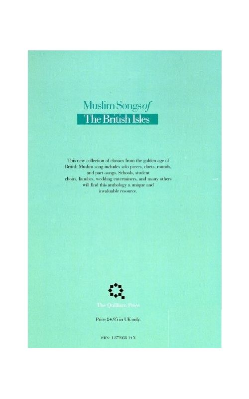 Muslim Songs of the British Isles: Arranged for School available at ...
