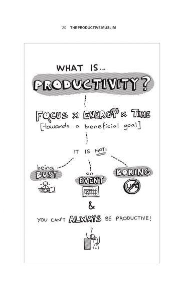 The Productive Muslim (Code: BK AWK19)