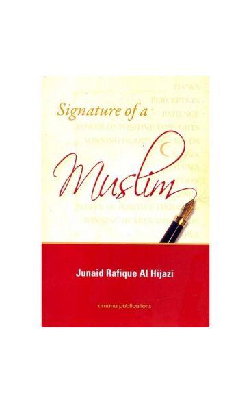 Signature of a Muslim