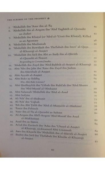 Scribes of the Prophet, Kuttab Al-Nabi(S)