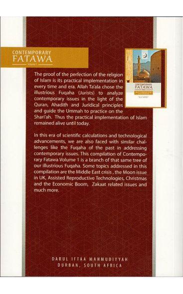Contemporary Fatawa Vol 1