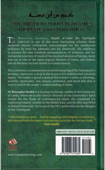 A Treasury Of Ibn Taymiyyah (His Timeless Thought And Wisdom)