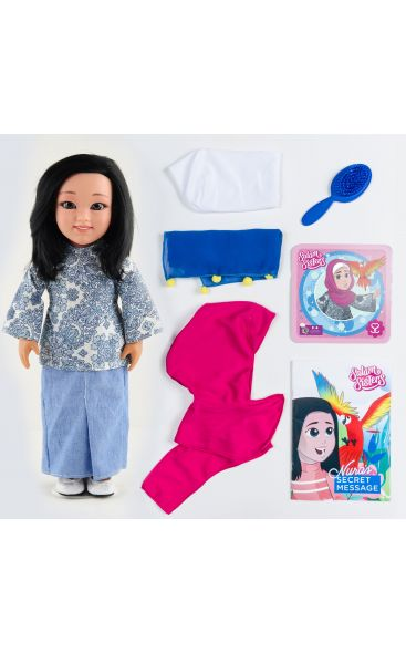 Layla, Nura, Maryam and Karima : 4 Doll Bundle