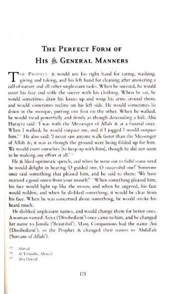 Muhammad (SAW) The Perfect Man