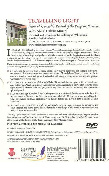 Travelling Light: Series I Books 31-34 with Abdal Hakim Murad Sarajevo(4 DVDs)