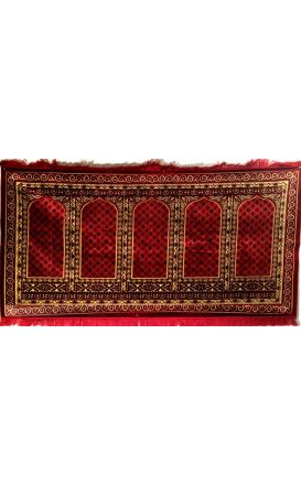 Best Quality Prayer Rug - 5 People Prayer Rug - From Turkey