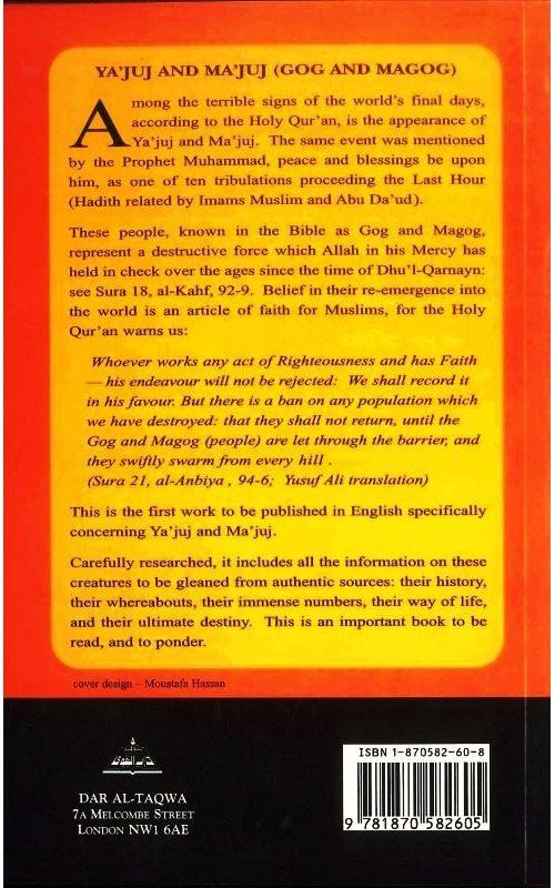 Yajuj and Majuj available at Mecca Books the Islamic Bookstore