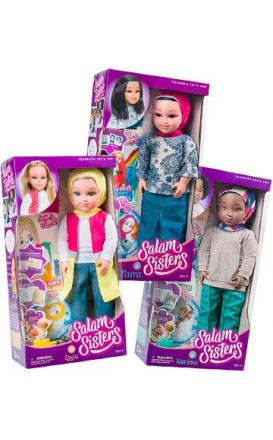 Layla, Nura and Karima : 3 Doll Bundle