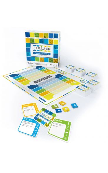 5 Pillars (Pillars Edition): Conquer The Five Pillars of Islam - The Ultimate Islamic Board Game Experience