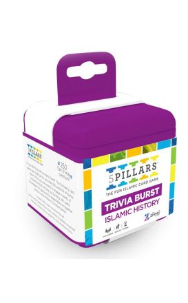 5Pillars Trivia Burst: Islamic History - The Fun Islamic Card Game(English)