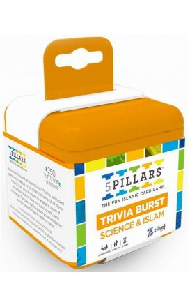5Pillars Trivia Burst: Science and Islam - The Fun Islamic Card Game(English)