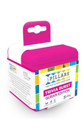 5Pillars Trivia Burst: Quran Edition - The Fun Islamic Card Game (English)