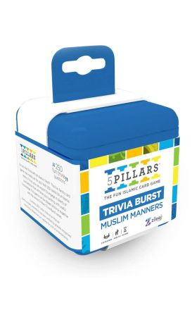 5Pillars Trivia Burst: Muslim Manners - The Fun Islamic Card Game (English)