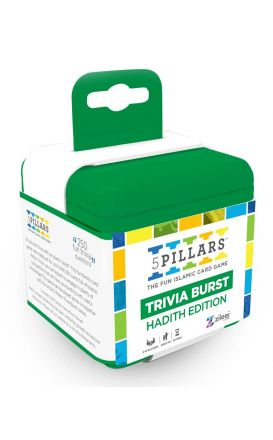 5Pillars Trivia Burst: Hadith Edition - The Fun Islamic Card Game (English)