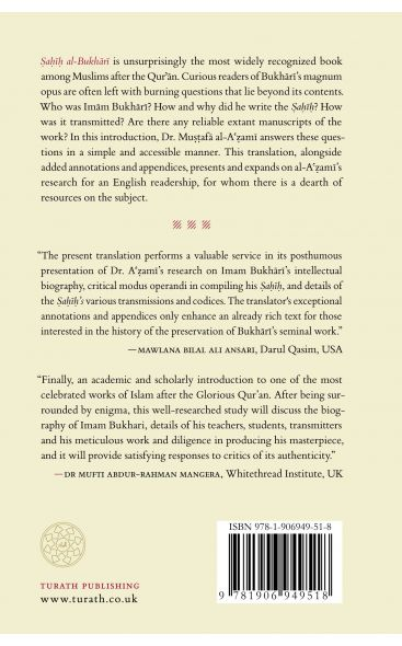An Introduction to Sahih al-Bukhari: Author's Biography, Recensions and Manuscripts